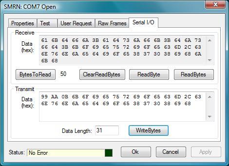 SMRN Windows Forms Control Description